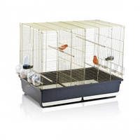 Клетка для канареек и попугайчиков Imac ТАША (TASHA), пластик, латунь, 80,5*49*65см