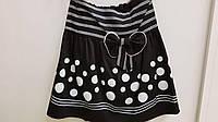 Детская школьная юбка черная 140 размер Польша