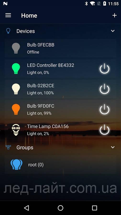 RGB контроллер с WI-FI