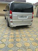Mercedes Vito 639 Тюнинг на задний бампер под покраску AMG-2