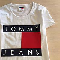 Футболка женская Tommy Hilfiger | Бирки | Реальные фото Томми Хилфигер