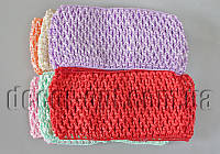 Повязки цветные Зиг-заг для ручной работы 70мм 12 шт
