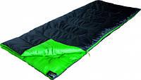 Спальный мешок High Peak Patrol / +7°C (Left) Black/green, фото 1