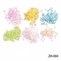 Голографические фигурки на планшетах ZH-004 Lady Victory (24 пакетика)(пастельно-розовый, желтый, голубой, пастельно-зеленый, белый, золотистый.)