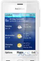 Стекло дисплея для Nokia 515 Dual Sim White
