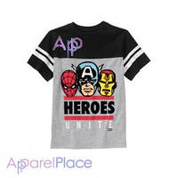 Gymboree Серая футболка Marvel  на мальчика