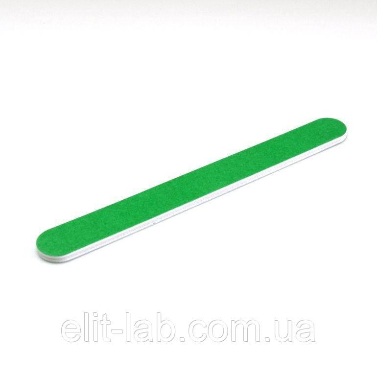 Пилка для натуральних нігтів синя зелена 180х240