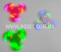 Спиннер с подсветкой и встроенными Bluetooth колонками - Хендспиннер Fidget Spinner