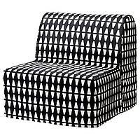 LYCKSELE HAVET Кресло раскладное, Vallarum серый