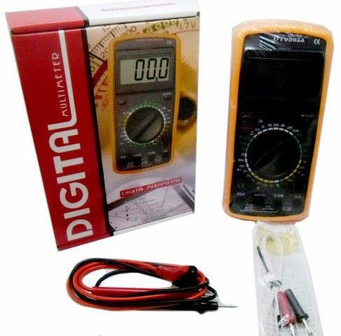 Цифровой профессиональный мультиметр Digital DT9207A тестер