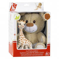 Подарочный набор игрушек Vulli Мишка Габби  и жирафик Софи (850516)