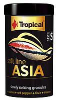 Корм для всеядных и плотоядных азиатских рыб Tropical Soft Line Asia S 67714 250ml/125g
