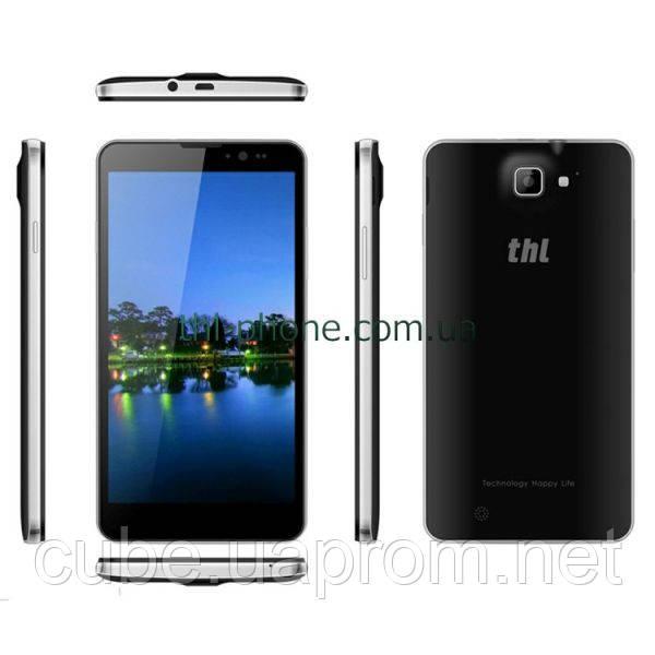 THL T200  2/32  Черный Black MT6592, 6 дюймов IPS Full HD, 13/13 MPix, W+G, Androi