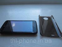 Защитный бампер пластиковый в украине для смартфона THL W5 Double Core цвет черный. Купить в украине в наличии