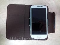 Кожанный чехол книжка Flip в Украине для смартфона JiaYu G4, THL W8, Zopo Zp810, Hero H7500+ HTC, Nokia, Samsung