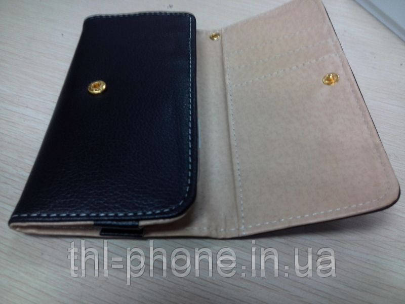 Шкіряний чохол книжка для смартфона JiaYu G4, THL W8, Zopo Zp810, Hero H7500+ HTC, Nokia, Samsung