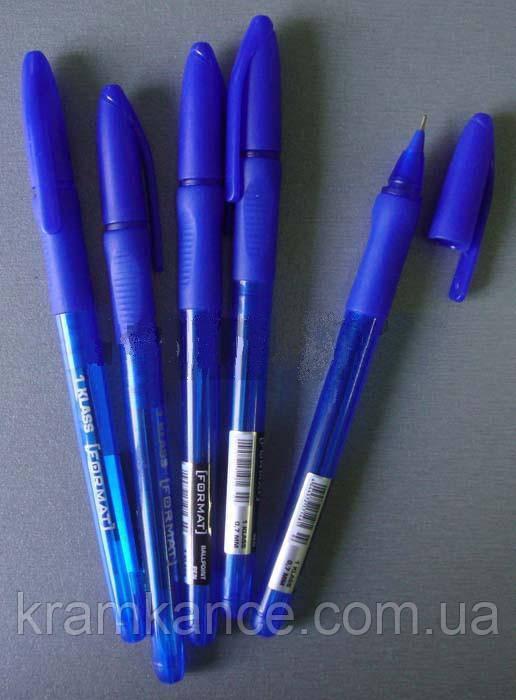 Ручка шариковая FORMAT 1Klass 17148 син. 0,7мм