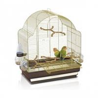 Клетка для срдних попугаев Imac ЭЛИСА (ELISA), пластик, латунь, 50*30*58см