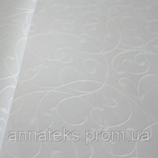 Ткань скатертная 89685 Мати №1812/010101 бел.160СМ