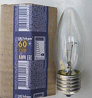 """Лампа накаливания свеча Е27 60 Вт (ДС) """"Искра"""" Львов, фото 1"""