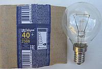 """Лампа накаливания шар Е14 40 Вт (ДШ) """"Искра"""" Львов, фото 1"""