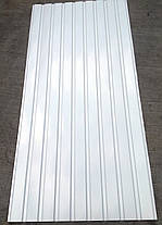 Профнастил ПС-8, Белый, на подшиву 2 м Х 0,95м, фото 3