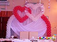 """Арка из воздушных шаров """"Вечная любовь"""""""