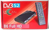 UClan B6 U2C FULL HD - спутниковый MPEG4 ресивер + прошивка + YOUTUBE