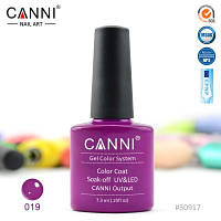 Гель лак Canni 7,3 мл №19