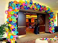 """Арка из воздушных шаров """"Баловство"""""""