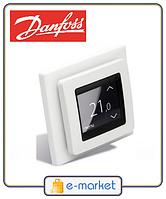 Терморегулятор с сенсорным дисплеем DEVIregTM Touch Danfoss 140F1064