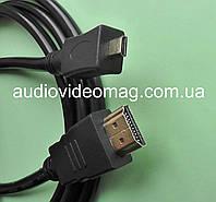 Кабель HDMI на micro HDMI, длина 1.5 метра, фото 1