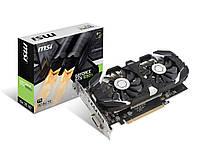 Видеокарта GeForce GTX1050Ti OC, MSI, 4Gb DDR5, 128-bit, DVI/HDMI/DP, 1455/7000 MHz (GTX 1050 Ti 4GT OC)