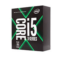 Процессор Intel Core i5 (LGA2066) i5-7640X, Box, 4x4,0 GHz (Turbo Boost 4,2 GHz), L3 6Mb, Kaby Lake-X, 14 nm, TDP 112W (BX80677I57640X),