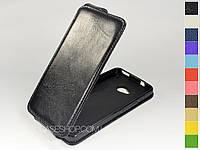 Откидной чехол из натуральной кожи для HTC One 801e