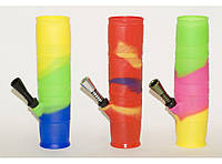 Бонг для курения BG7-8 (20 СМ) БОНГ СИЛИКОН , бонг акриловый, трубка бонг для курения