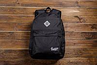 Рюкзак подростковый школьный Backpack Pobedov Roominess Black
