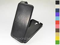 Откидной чехол из натуральной кожи для HTC One E9 / One E9+