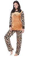 Женская теплая пижама,Турция,приятная к телу