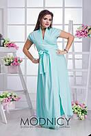 Женское платье (42-44, 46-48, 50-52, 54-56, 58-60) —софт-шелк купить в розницу в одессе  7км