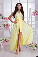 Женское платье (42-44, 46-48, 50-52, 54-56, 58-60) —софт-шелк от компании Discounter.top