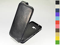 Откидной чехол из натуральной кожи для HTC One M9