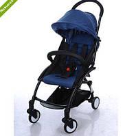 Прогулочная коляска Baby YOGA (АНАЛОГ Yoya) M 3548-4, синяя