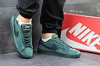 Мужские кроссовки Nike SB зеленые 2739