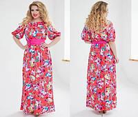 Сарафан (48-50; 52-54) — штапель купить в розницу в одессе  7км