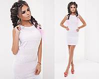 Женское платье (42,44,46) —батист купить в розницу в одессе  7км