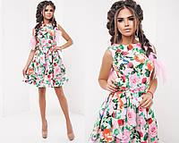 Женское платье (42,44,46) —креп купить в розницу в одессе  7км