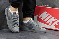 Мужские кроссовки Nike SB серые 2742
