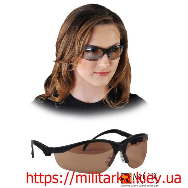 Очки защитные REIS KLONDIKE коричневое стекло