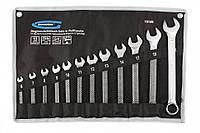Набор ключей комбинированных 6-22 мм, 12 шт., CrV, холодный штамп GROSS 15149